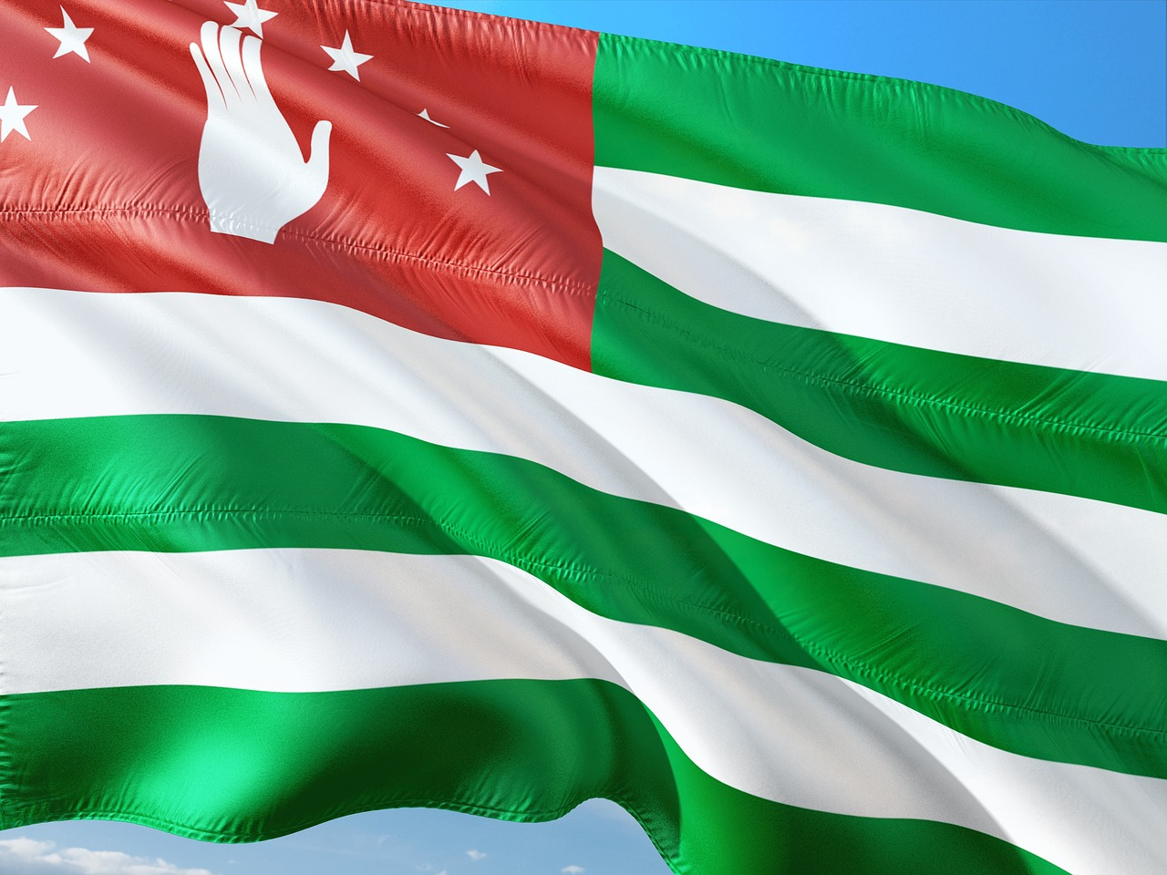 Which countries recognized the independence of Abkhazia