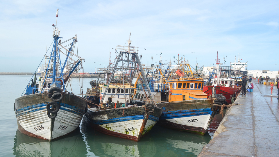 Port of Al-Aaiun, Western Sahara