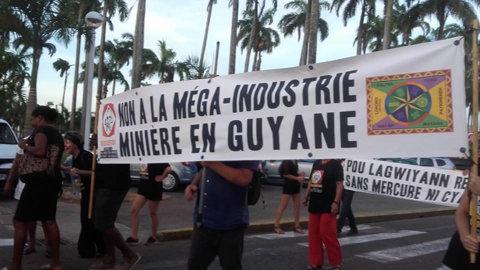 social unrest in guiana over mining project south kurdistan under