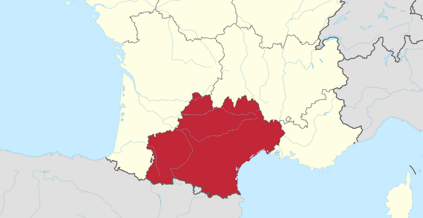 Roussillon France Map.France Accepts Occitania As Final Name For Midi Pyrenees And