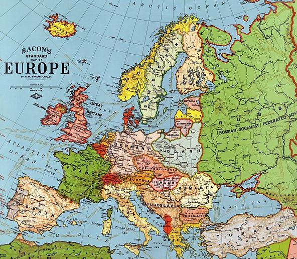 Download Wwi Map Europe Gif