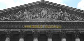 French National Assembly building.