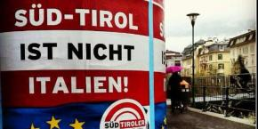 "Sign in the city of Meran: ""South Tyrol is not Italy"""