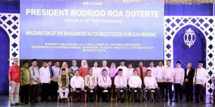 Act of inauguration of the new Bangsamoro self-government, March 2019.