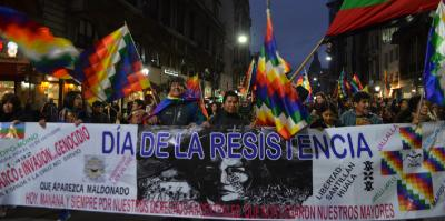 Resistance March, in Buenos Aires.