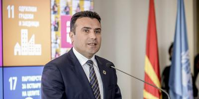 Macedonian PM Zoran Zaev.