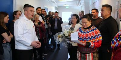 One of the first acts of the new Greenlandic government, this week.