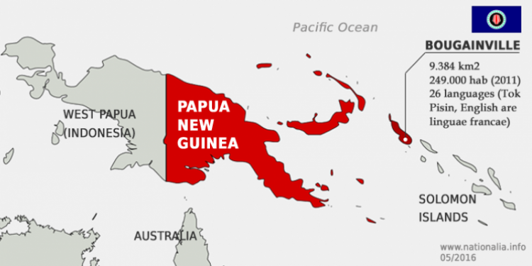 Vote on Bougainville's independence from Papua New Guinea